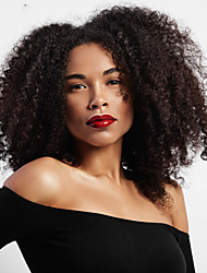 cheap -Synthetic Hair Wigs Afro Kinky Curly African American Wig Middle Part Bob Haircut Halloween Wig Celebrity Wig Party Wig Natural Wigs