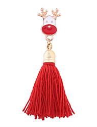 abordables -Femme Autres Broche - Mode / Noël Rouge / Gris Broche Pour Noël / Cadeau