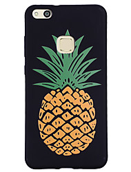 cheap -Case For Huawei P9 Lite Huawei Huawei P8 Lite Pattern Back Cover Fruit Soft Silicone for P10 Lite P10 Huawei P9 Lite Huawei P8 Lite Huawei