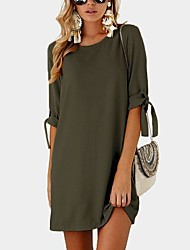 cheap -Women's Daily Simple Loose Dress
