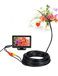 cheap -AV Endoscope Camera 5V Mini Camera NTSC Waterproof IP66 5.5mm Lens 10m Inspection Borescope Snake Pipe Cam Night Vision