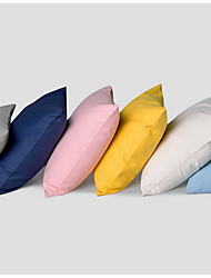 cheap -6 pcs Cotton Sofa Cushion Travel Pillow Bed Pillow Pillow Case Pillow Cover, Solid Classic Modern Style Casual Basic Accent/Decorative