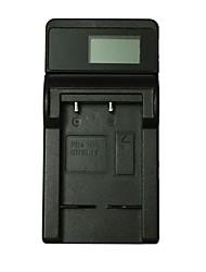 ismartdigi el19 lcd usb carregador de bateria da câmera móvel para nikon s2700 s3300 s3500 s4400 s5200 s6500 s6600 - preto