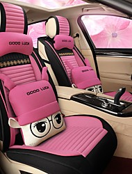 cheap -Car Seat Covers Seat Covers Linen For universal All years