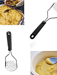 cheap -Stainless Steel Hand Held Potato Masher Ricer Puree Juice Maker Presser