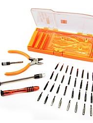 baratos -40 em 1 chave de fenda de precisão para eletrônicos laptop telefone puxar jogo conjunto ferramenta de reparo