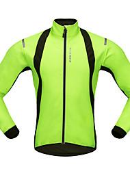 cheap -WOSAWE Cycling Jersey Unisex Long Sleeves Bike Jersey Top Winter Fleece Bike Wear Windproof Classic Mountain Cycling Road Cycling Cycling