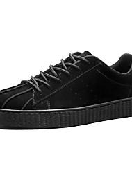 Da uomo Scarpe Cashmere Primavera Autunno Comoda Sneakers Lacci Per Casual Nero Marrone