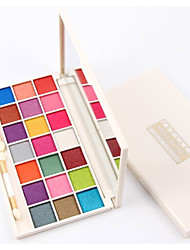 cheap -21 Eyeshadow Palette Dry Shimmer Mineral Eyeshadow palette Powder Daily Makeup Halloween Makeup Fairy Makeup Cateye Makeup Smokey Makeup