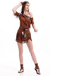 cheap -American Indian Cosplay Costume Masquerade Women's Christmas Halloween Carnival Oktoberfest New Year Children's Day Festival / Holiday