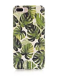 economico -Custodia Per Apple iPhone X iPhone 8 Effetto ghiaccio Fantasia/disegno Per retro Albero Resistente PC per iPhone X iPhone 8 Plus iPhone 8
