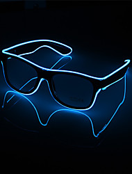 cheap -1Pcs Flashing Led Glasses Luminous Party Decorative Lighting Classic Gift Bright Light Festival Gift