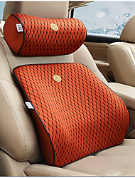Automotive Headrest & Waist Cushion Kits For universal All years General Motors Car Waist Cushions Leather