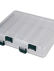"cheap -Fishing Tackle Boxes Tackle Box 2 Trays Plastic 19.5*6 1/3"" (16 cm)*4.5"