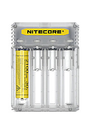 Nitecore Battery Charger - lm Manual Mode Portable Professional Easy Carrying High Quality Lightweight Everyday Use White Black Yellow