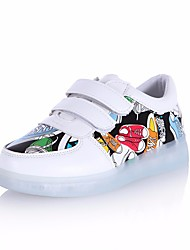 cheap -Girls' Shoes PU Fall Light Up Shoes Sneakers for White