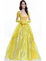 cheap -Princess Queen Goddess One Piece Dress Party Costume Masquerade Female Christmas Halloween Carnival New Year Oktoberfest Festival /