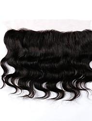 cheap -Brazilian Hair Body Wave Remy Human Hair Human Hair Weaves Natural Black Human Hair Extensions