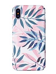 economico -Per iPhone X iPhone 8 Custodie cover Fantasia/disegno Custodia posteriore Custodia Albero Resistente PC per Apple iPhone X iPhone 8 Plus