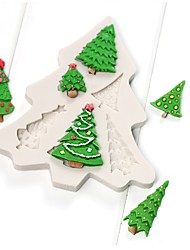 abordables -Moules à gâteaux Pour Bonbons Silicone Enfants Vacances Nouveautés Anniversaire Nouvel An Action de grâces