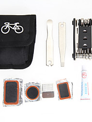 cheap -EA14 1x Bicycle Repair Tools Kit Biycle Cycling Puncture Bike Multi Function Tool Repair Kit Set With Pouch