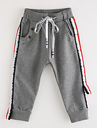 billige -Baby Drenge Trykt mønster Bomuld Bukser