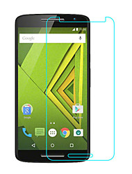 levne -Screen Protector pro Motorola Moto X Play Tvrzené sklo 1 ks Fólie na displej High Definition (HD) / 9H tvrdost / 2.5 D zaoblený okraj