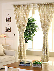 Trattamento finestra Rustico , Fantasia floreale Cucina Materiale tende tende Decorazioni per la casa For Finestra