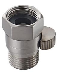 válvula de pressão de chuveiro válvula de controle de água de latão sólido válvula de desligamento para bidão ou chuveiro cabeça niquel