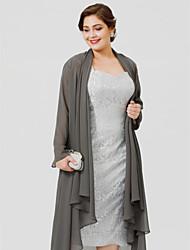 abordables -Manches Longues Mousseline de soie Mariage Fête / Soirée Etoles de Femme Manteaux / Vestes