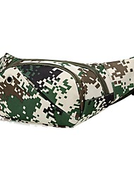 cheap -2 L Fanny Pack / Hiking Waist Bag - Wearable Outdoor Hunting, Fishing, Hiking Cloth Army Green, Green, Forest Green
