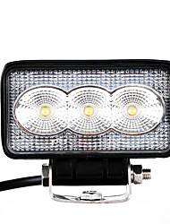 1PCS 100% Car Models Fitted Genuine Driving Lighting Pattern 15W 1500LM LED Work Light 6000K LED White Color with Vertical and Horizontal Installation