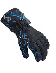 Недорогие -Лыжные перчатки Универсальные Полный палец Сохраняет тепло / Защитный Ткань / Хлопок Катание на лыжах Зима