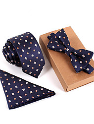 cheap -Men's Polyester Cravat & Ascot Print