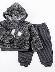 Baby Children's Casual/Daily Clothing Set Winter