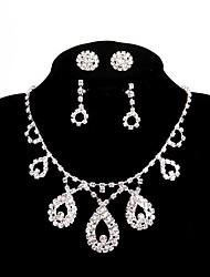 cheap -Women's Chain Necklace - Elegant White Necklace Five-piece Suit For Wedding, Party, Engagement