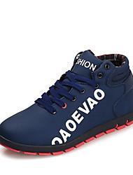 Homme Chaussures Microfibre Printemps Automne Confort Chaussures d'Athlétisme Course à Pied Pour Athlétique Décontracté Noir Gris Rouge