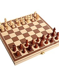 cheap -Chess Game Education Wood Family Children's Adults' Boys' Gift