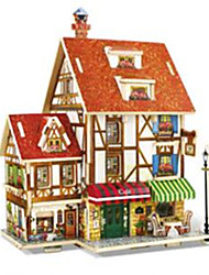 3D Puzzles Toys Architecture Houses Kids 1 Pieces