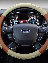 cheap -Automotive Steering Wheel Covers(Polyester)For universal All years