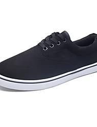 Herren Schuhe Stoff Herbst Komfort Roller-Skate Schuhe Leuchtende Sohlen Sneakers Für Normal Schwarz Dunkelblau Grau