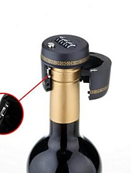 cheap -Plastic Bottle Password Lock For Wine Liquor Bottle Vacuum Picks Stopper
