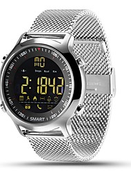 cheap -Smartwatch EX18 for iOS / Android Calories Burned / Long Standby / Water Resistant / Water Proof / Exercise Record / Distance Tracking Stopwatch / Pedometer / Call Reminder / Activity Tracker / Sleep