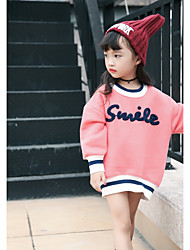 Girls' Others Blouse,Cotton Winter Fall Long Sleeve Blushing Pink Light Brown