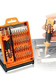 cheap -PC Phone Repair Tool 33 in 1 Screwdriver Set Disassemble Laptop Cell Phone Tablet Electronics Opening Repair Tools