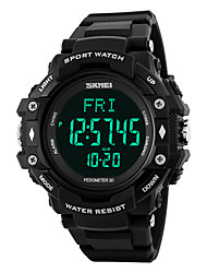 cheap -SKMEI -1180 Smartwatch Water Resistant / Water Proof Long Standby Pedometers Heart Rate Monitor Alarm Clock Multifunction Light and