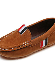 cheap -Boys' Shoes PU Spring Comfort Loafers & Slip-Ons for Brown / Army Green / Burgundy