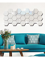 cheap -Fashion Shapes Abstract Wall Stickers Plane Wall Stickers Lens Decorative Wall Stickers,Acrylic Material Home Decoration Wall Decal