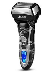 kemei km5568 rasoir électrique lavable charge rapide tout le corps lavable électrique rasoir quatre lame de rasage pour les hommes