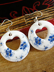 Women's Drop Earrings Hoop Earrings Fashion Vintage China Round Heart Jewelry For Party Casual